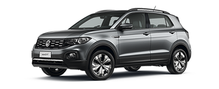 Nuevo T-Cross Gris Platino Comfortline AT TSI 1.0